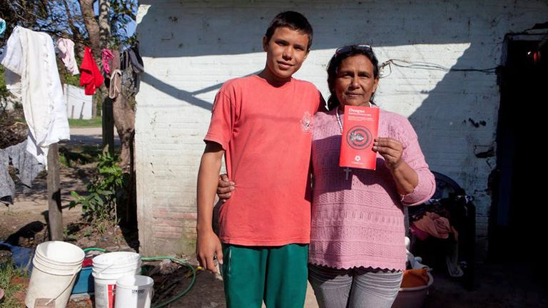 Mundo Sano realiza campañas de concientización contra el dengue