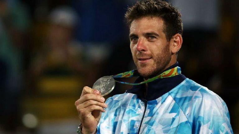 Del Potro ganó la medalla de plata en los Juegos; venció a Djokovic y Nadal y no pudo en la final con Murray
