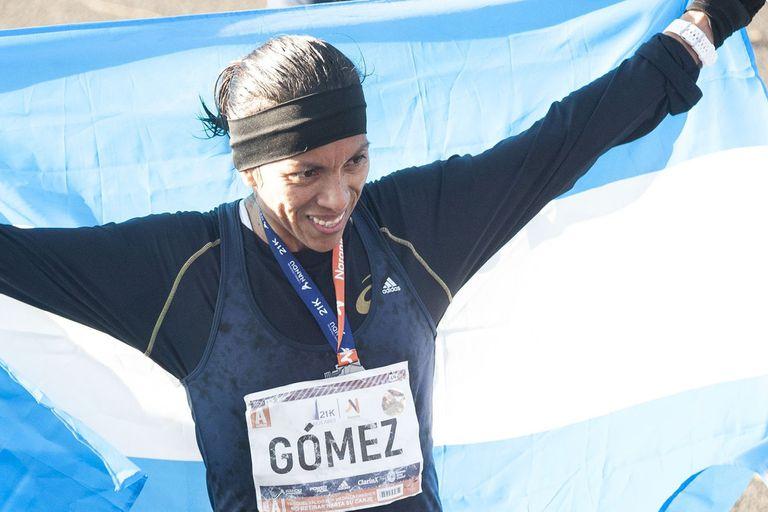 Marcela Gómez: la mejor argentina del circuito porteño