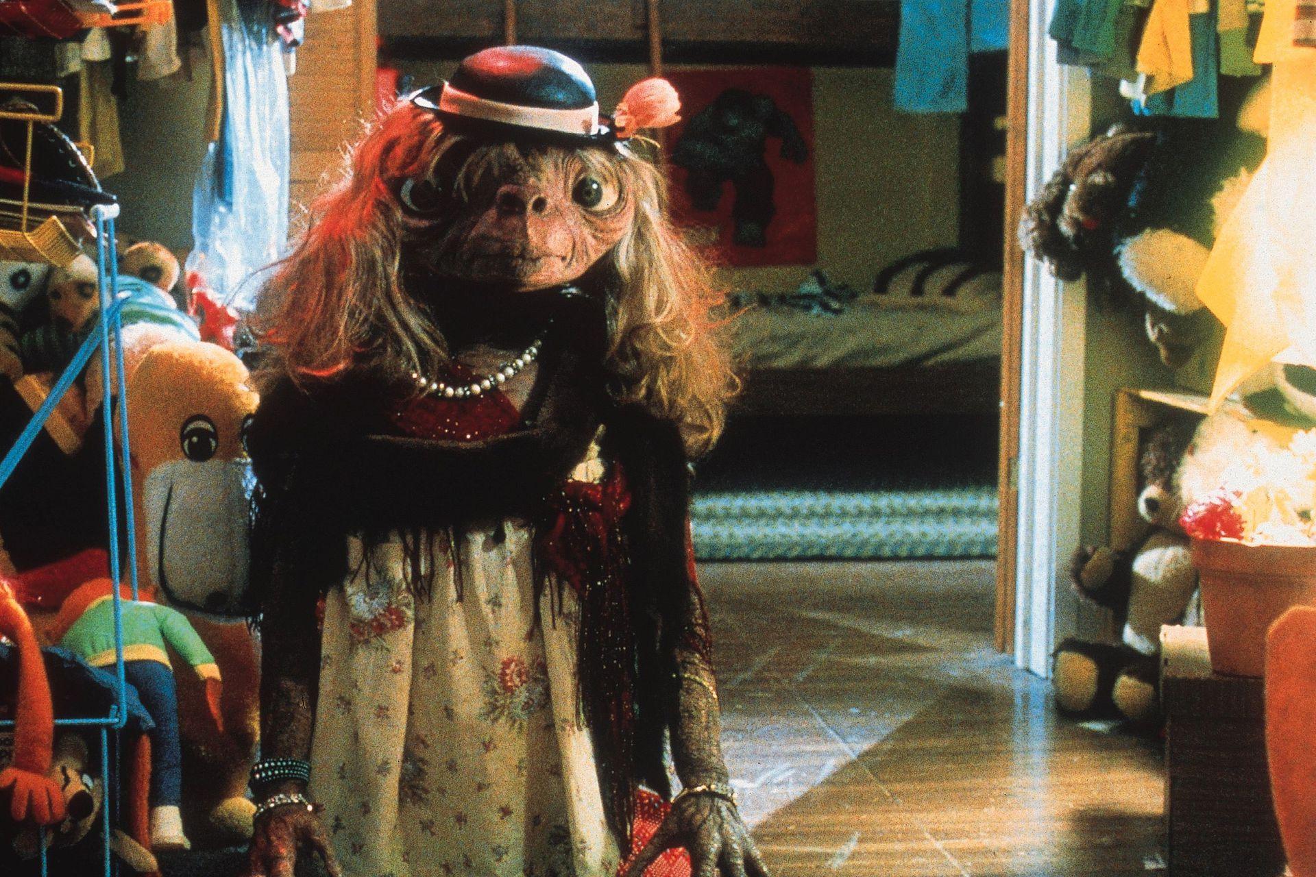 La creación del muñeco de E.T, una gran preocupación para Spielberg