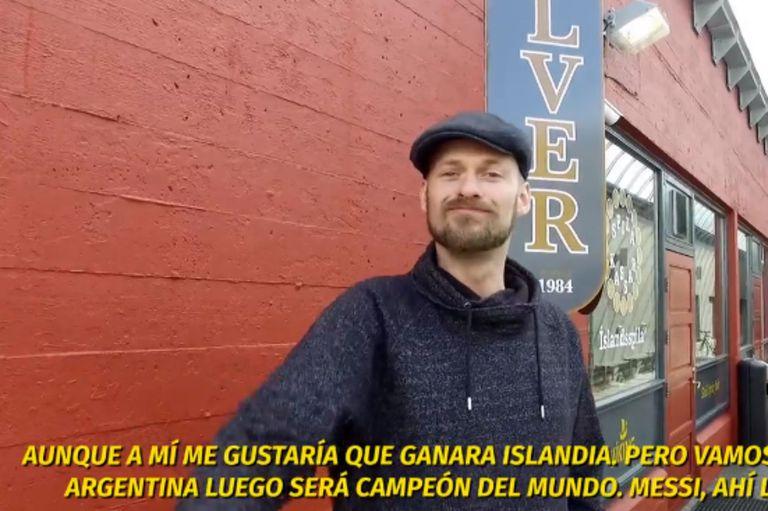 El pronóstico del jefe de los hinchas de Islandia que ilusiona a la Argentina