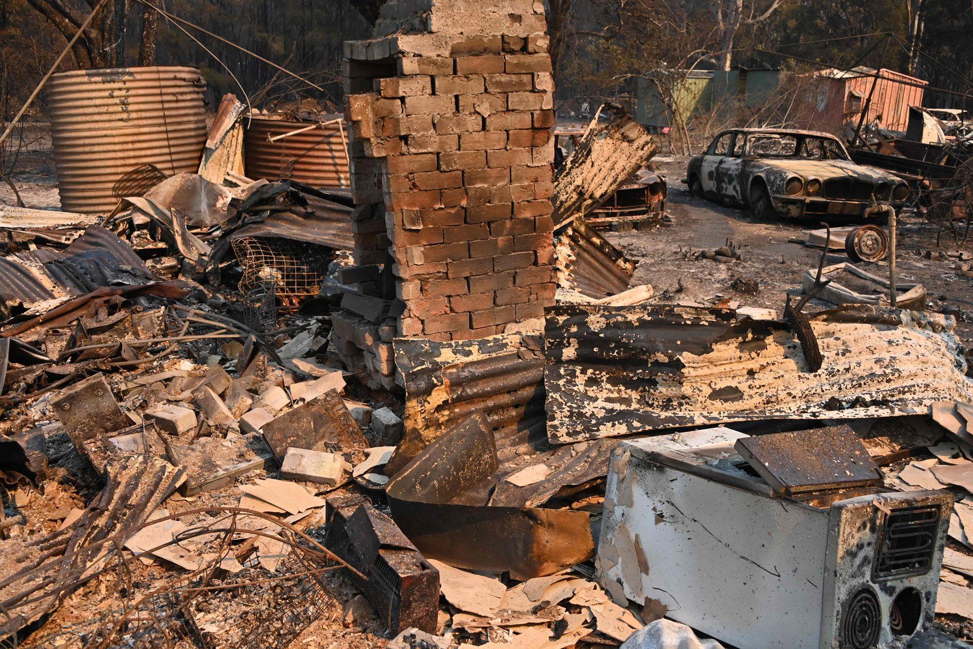 Más de cien viviendas fueron destruidas por el fuego