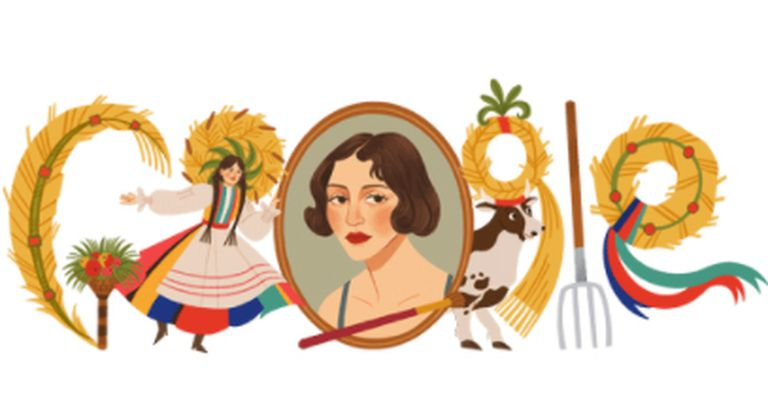 En su edición del doodle de hoy, el buscador recordó las increíbles victorias intelectuales de una prestigiosa artista de Polonia