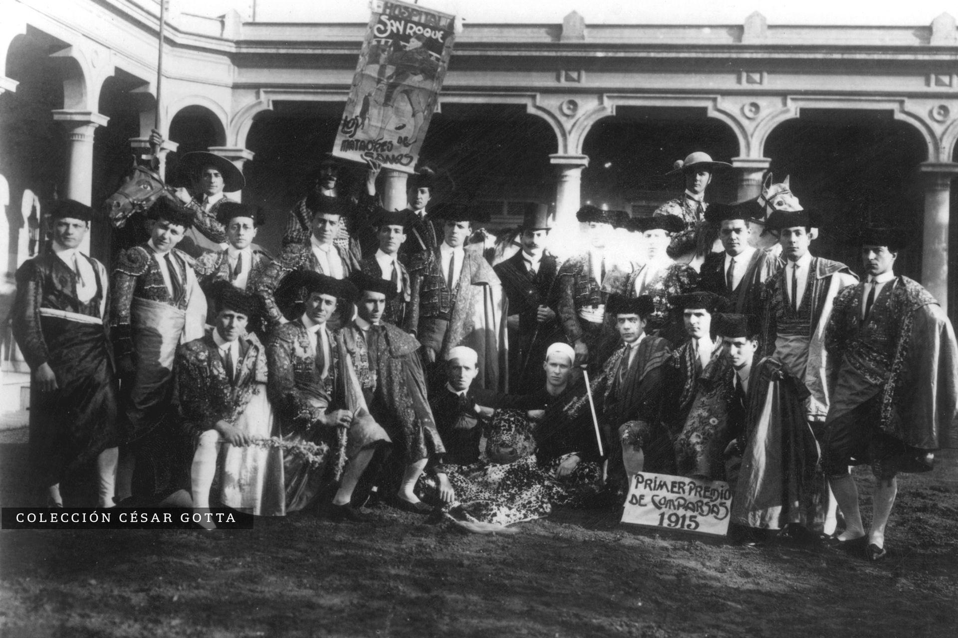 Hospital San Roque. 1915.