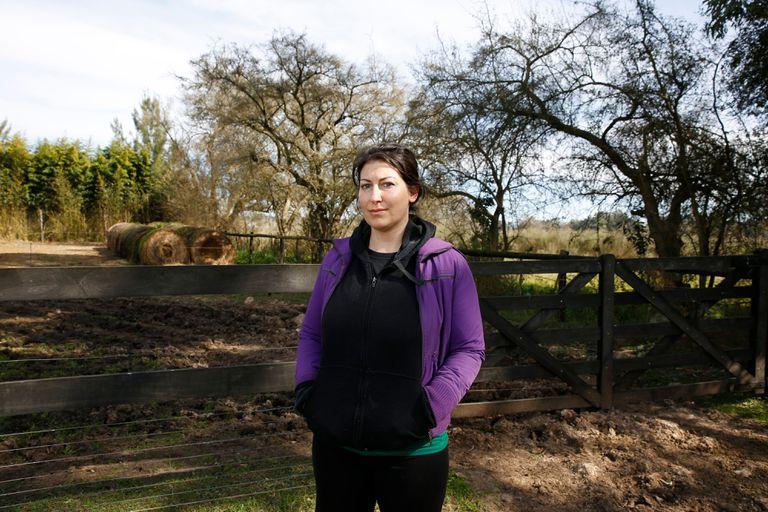 Valeria Katzman tuvo cáncer en el sistema linfático; su yegua y su perra, también