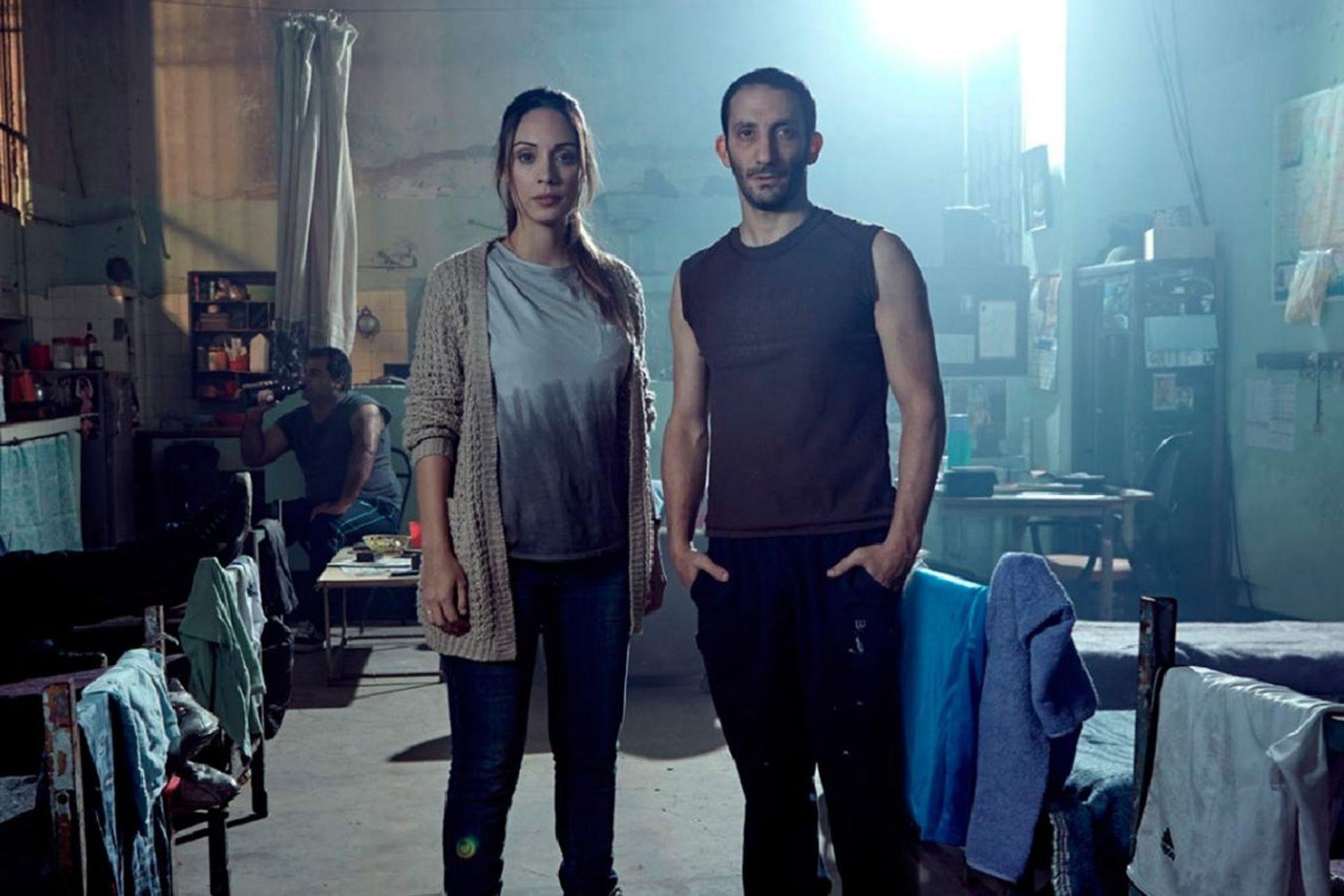 Martina Gusman y Juan Minujín, protagonistas de la ficción estrenada en 2016