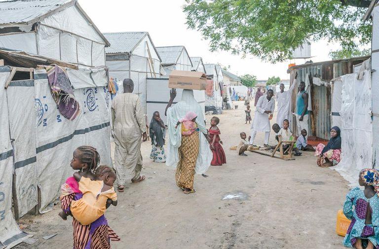 15-09-2020 Desplazados por la violencia en Maiduguri (Nigeria) POLITICA AFRICA NIGERIA INTERNACIONAL WFP/OLUWASEUN OLUWAMUYIWA