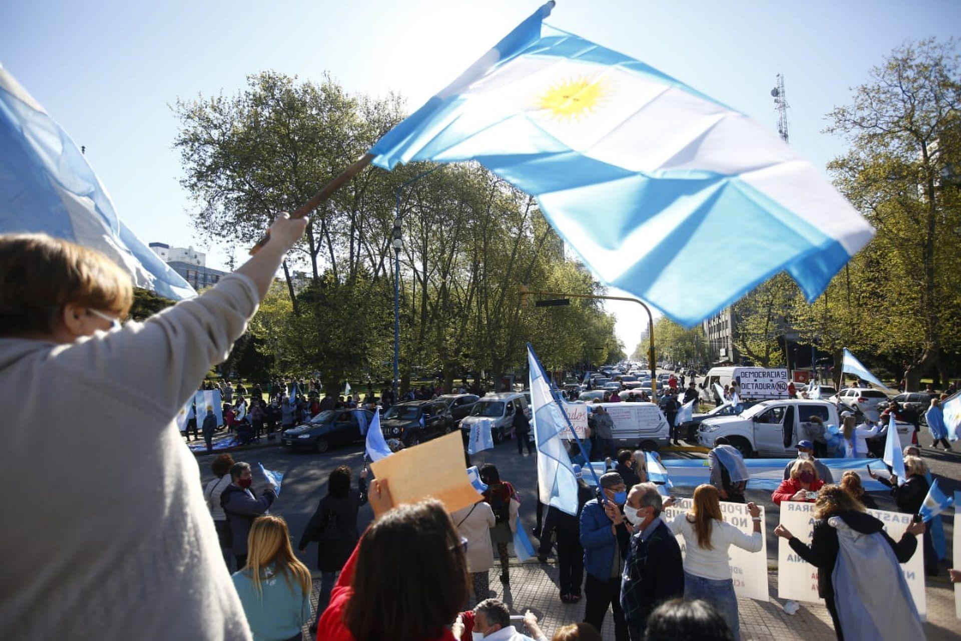 Mar del Plata también tuvo una movilización multitudinaria