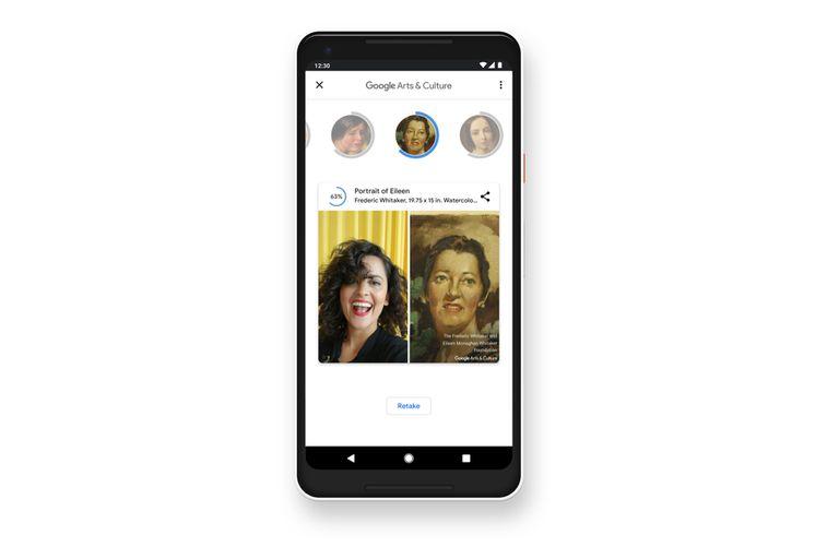 El resultado varía según los gestos que hagamos o de la posición de nuestro rostro al hacer click