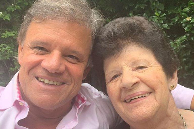La mamá de Enrique Sacco de 88 años tiene coronavirus