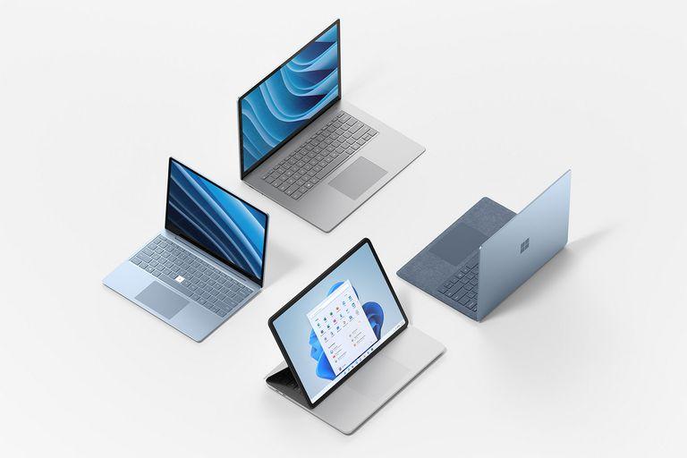 Microsoft lanza su línea de notebooks, tabletas convertibles y accesorios
