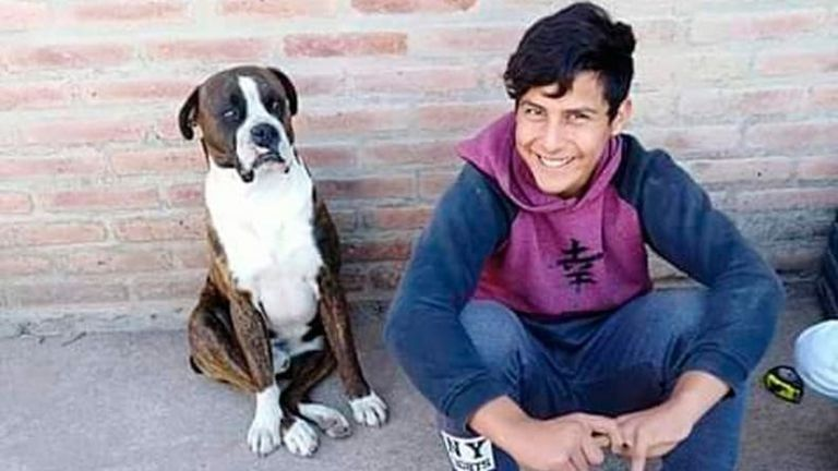 Joaquín Paredes fue asesinado el domingo pasado a la madrugada por la policía.