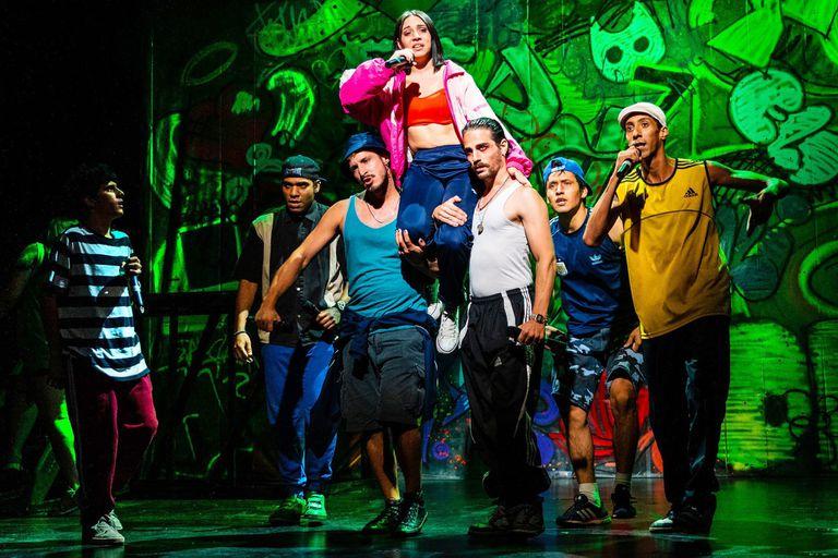 El musical de hip hop que hacen chicos y chicas de barrios carenciados