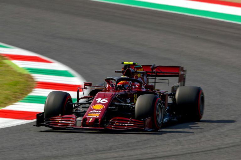 Fórmula 1: el modelo especial de las Ferrari bordó y el choque de Lando Norris
