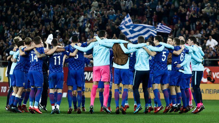 Croacia se nutre de la pasión: la celebración tras ganarle el repechaje a Grecia