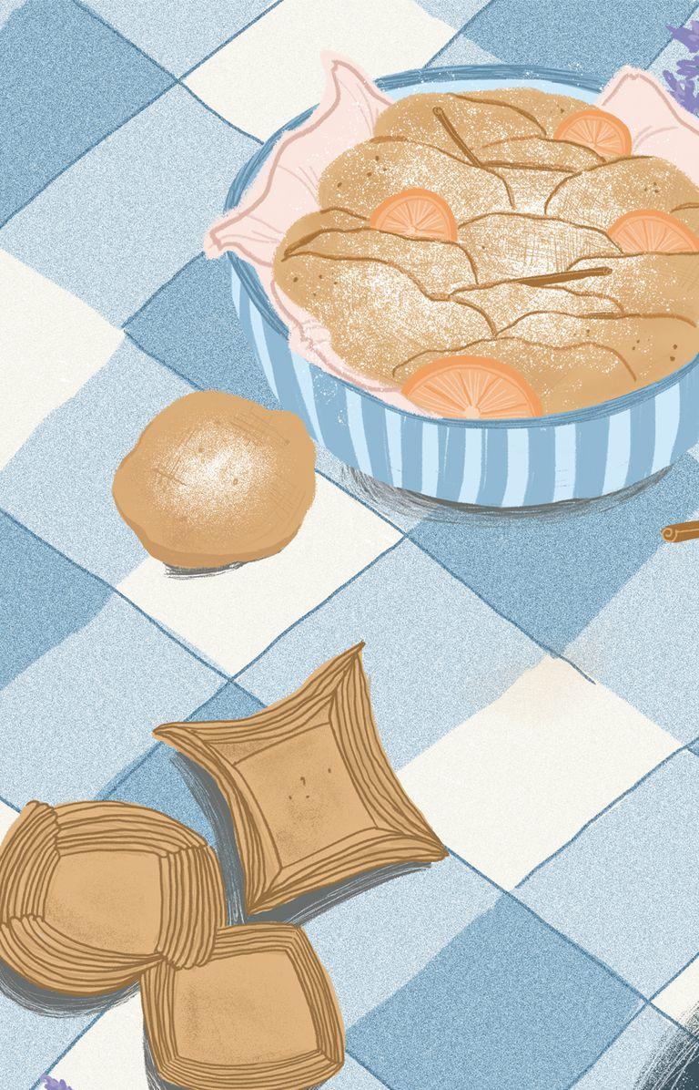 Pastelitos y tortas fritas.