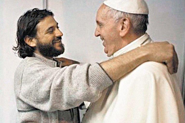Francisco relativizó su vínculo con Juan Grabois