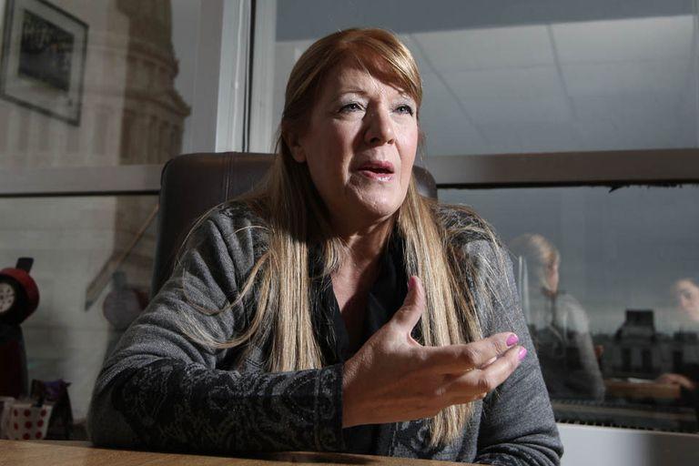 La diputada Margarita Stolbizer acusó a la IGJ de encubrir las irregularidades de la empresa de la Presidenta al no cumplir con sus funciones