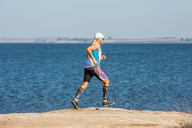 La Laguna Epecuén, para correr más allá del tiempo