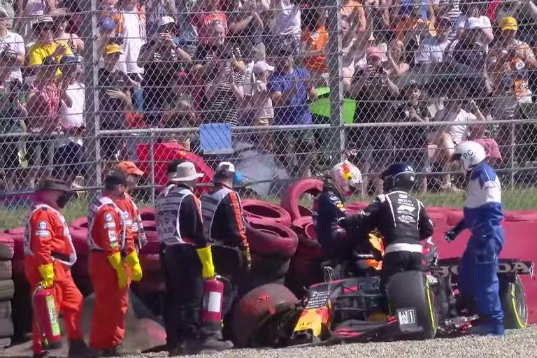 Red Bull pidió revisar la sanción a Hamilton por el accidente con Verstappen