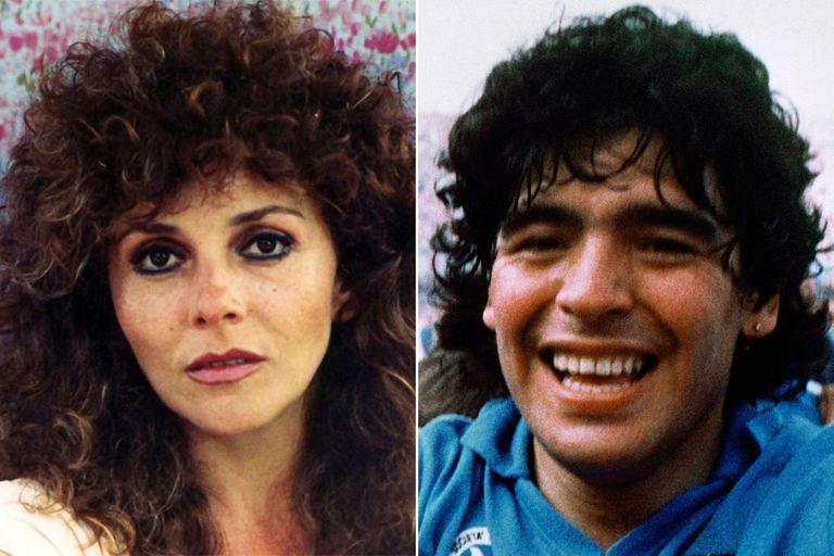 """Verónica Castro reveló el vínculo que mantuvo con Diego Maradona: """"Me gustaba, pues sí"""""""