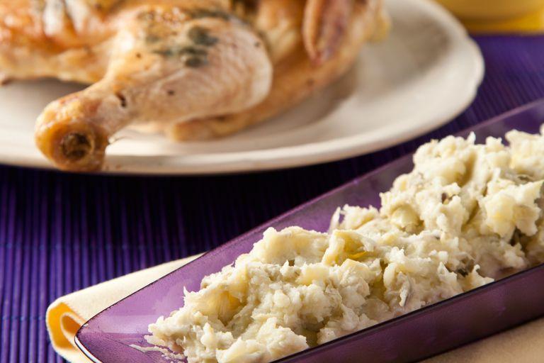 Acompañá el pollo con un puré diferente