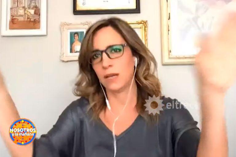 Sandra Borghi informó que ella y su familia dieron positivo de Covid-19