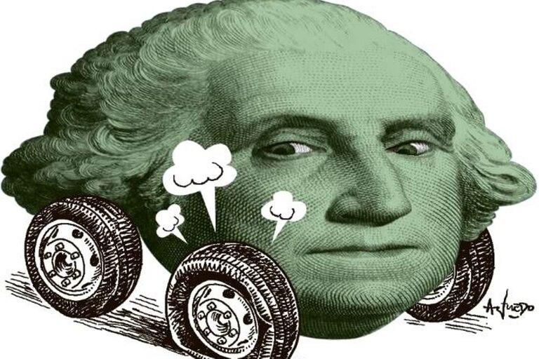El dólar alcanzó su máximo histórico
