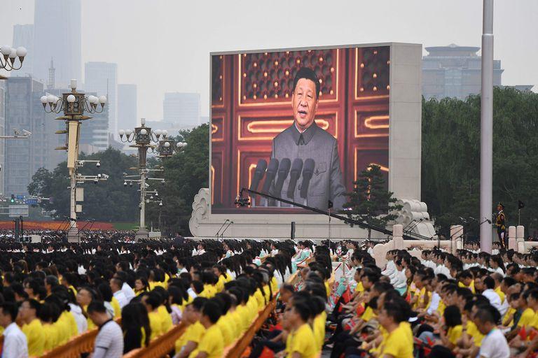Xi Jinping encabezó el acto central por el centenario del PCC el jueves pasado