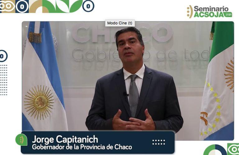 Jorge Capitanich, gobernador de la provincia de Chaco