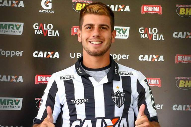 Andrade jugó 31 partidos en Atlético Mineiro pero el club no hizo uso de la opción de compra