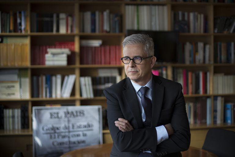 Javier Moreno culminó la gestión frente a El País que había comenzado en junio del año pasado