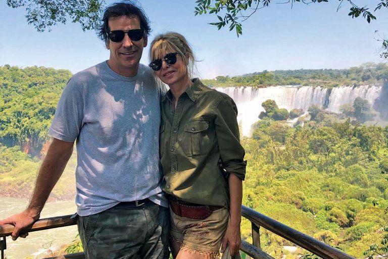 Karina Rabolini paseó su romance con Ignacio Castro Cranwell por las cataratas