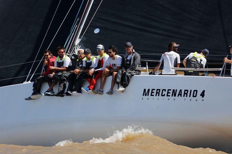 Buenos Aires-Río. Martín Nacarato, el cuarto bicampeón de la tradicional regata
