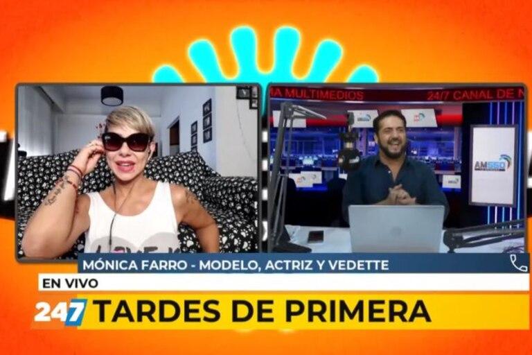 """Mónica Farro y Sol Pérez tuvieron una fuerte pelea cuando trabajaron en """"Veinte Millones"""", la obra protagonizada por Carmen Barbieri"""