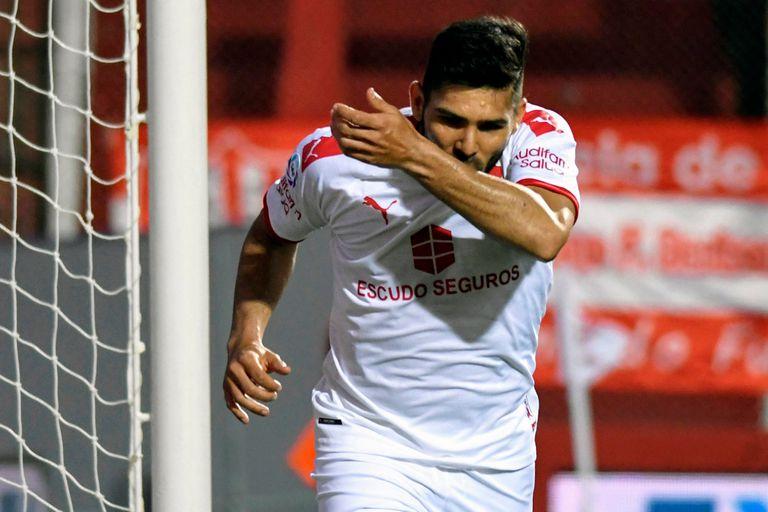 Silvio Romero, el Nº 9 de Independiente que quiere confirmar su buen momento