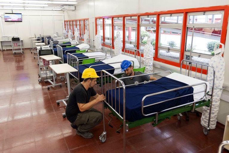 En el Garrahan, se inauguró una unidad de cuidados especiales de 40 camas para reforzar la atención