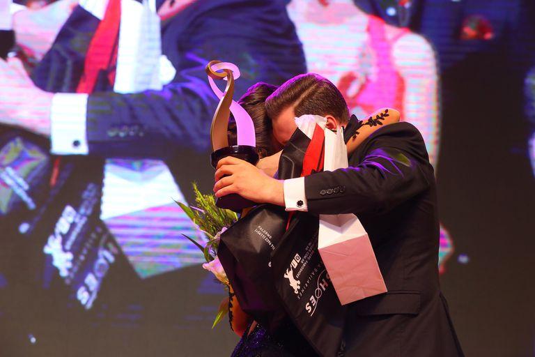 Los ganadores de la categoría Pista del festival de Tango Buenos Aires