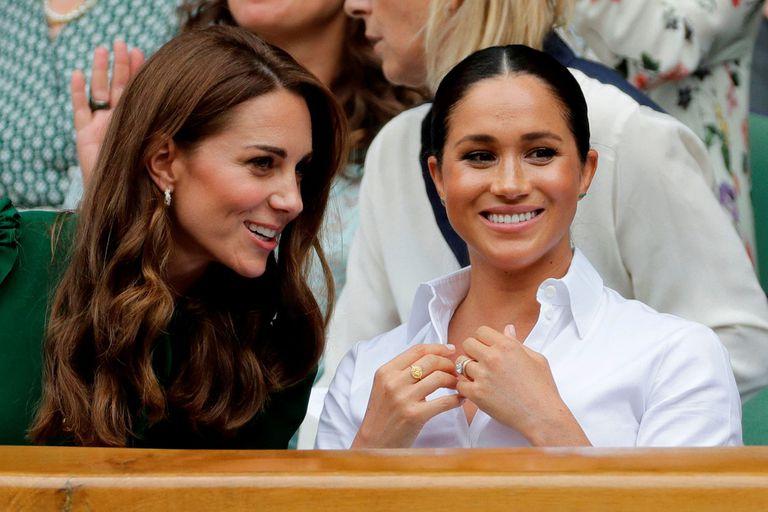 Realeza: el exclusivo evento que podría reunir a Meghan Markle y Kate Middleton