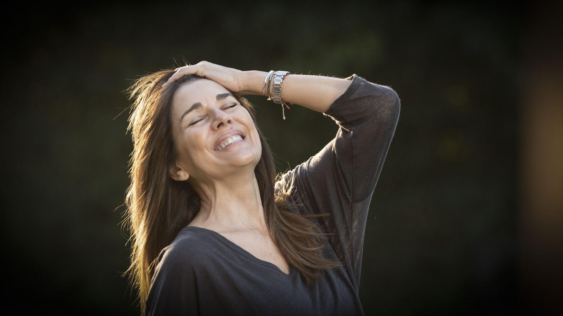 Para Andrea Frigerio, llevar hábitos saludables redunda en una vida plena y feliz