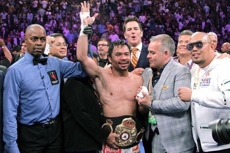Boxeo: Manny Pacquiao venció a Keith Thurman e hizo historia en Las Vegas