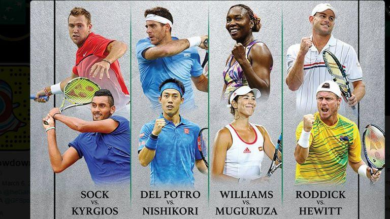 El programa: los cuatro partidos anunciados para celebrar el Día Mundial del Tenis