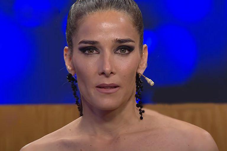 Juana Viale se mostró enojada con el Presidente y deslizó un exabrupto al presentar su look
