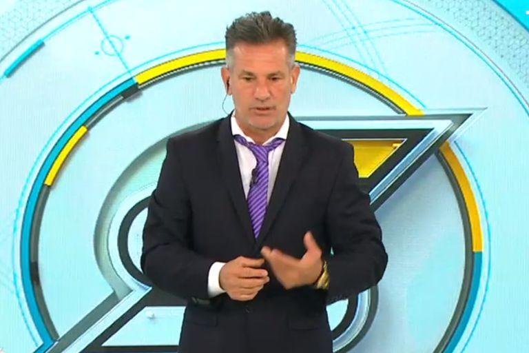 Diego Díaz pidió disculpas por su exabrupto, pero lanzó un dardo
