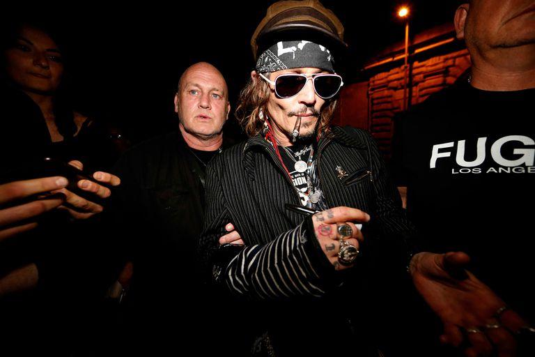 Así de desmejorado lo captaron los paparazzi a Johnny Depp recientemente