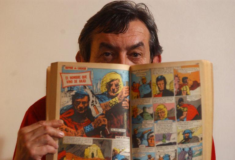 Murió Robin Wood, creador de inolvidables personajes como Nippur de Lagash