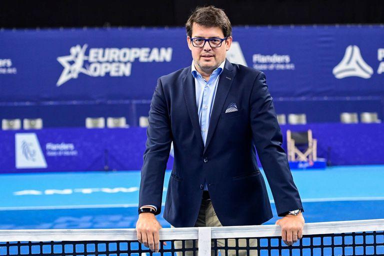 """Puelinckx, dueño del ATP de Buenos Aires: """"Hay que mantener el tenis vivo"""""""