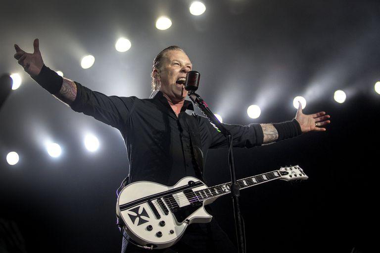 James Hetfield, de Metallica, en 2020 ya con entradas agotadas