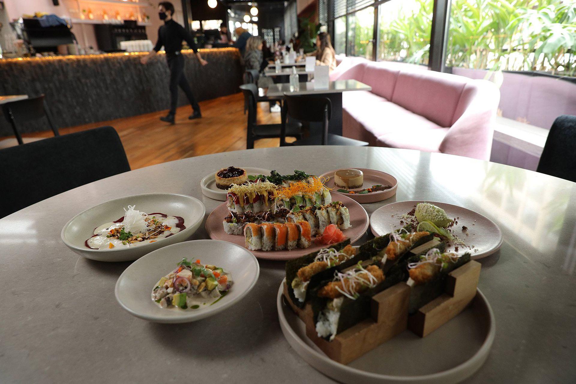 Mudrá, restaurante especializado en comida plant based