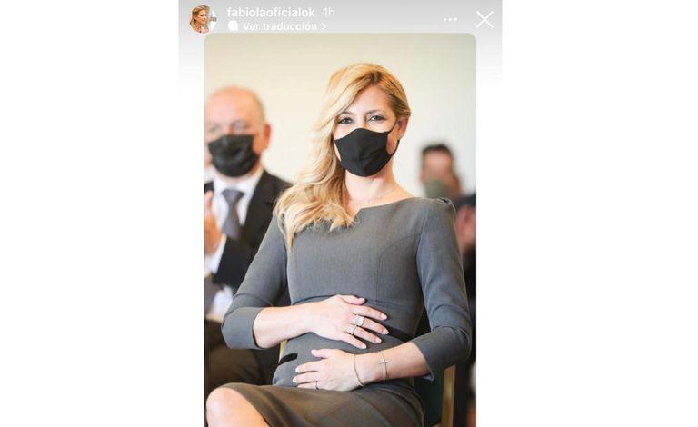 La foto que Fabiola Yáñez publicó en su Instagram, en el marco de un viaje oficial a Misiones, que despertó rumores de embarazo